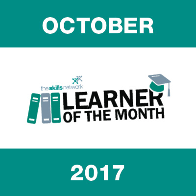 Learner of the Month - October