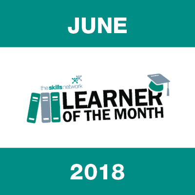 Learner of the Month - June 2018