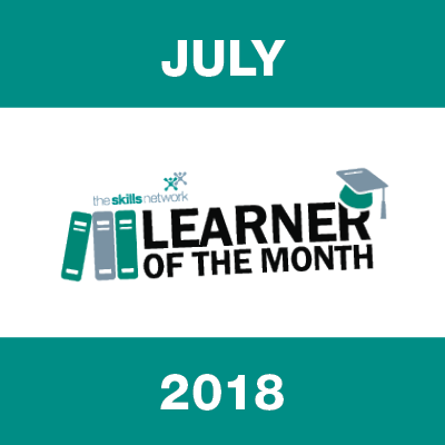 Learners of The Month - July 2018