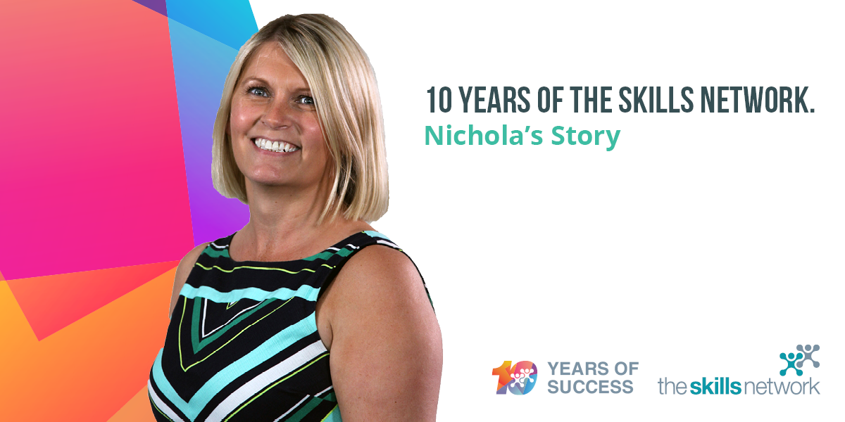 Employee Focus: Nichola Bury Davies - Celebrating 10 Years of The Skills Network
