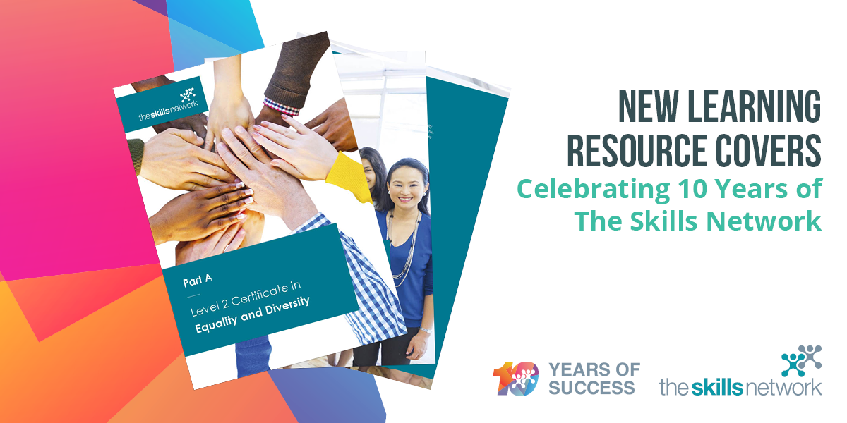 Exciting Announcement: New Learning Resource Covers – Celebrating 10 Years of The Skills Network