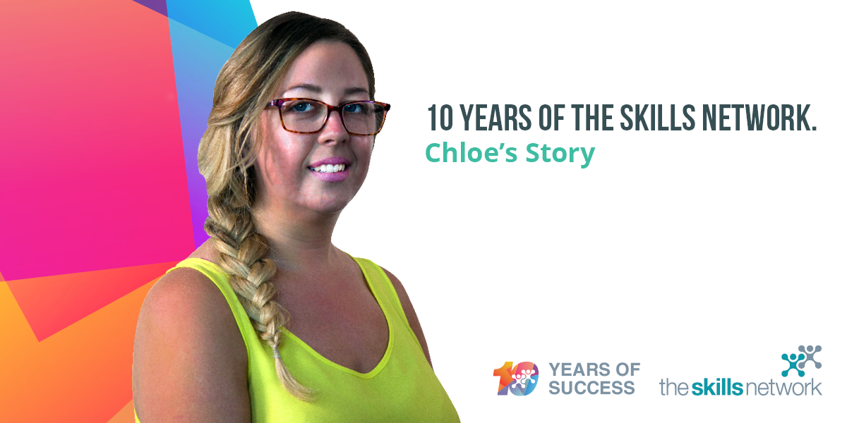 Employee Focus: Chloe Raper – Celebrating 10 Years of The Skills Network