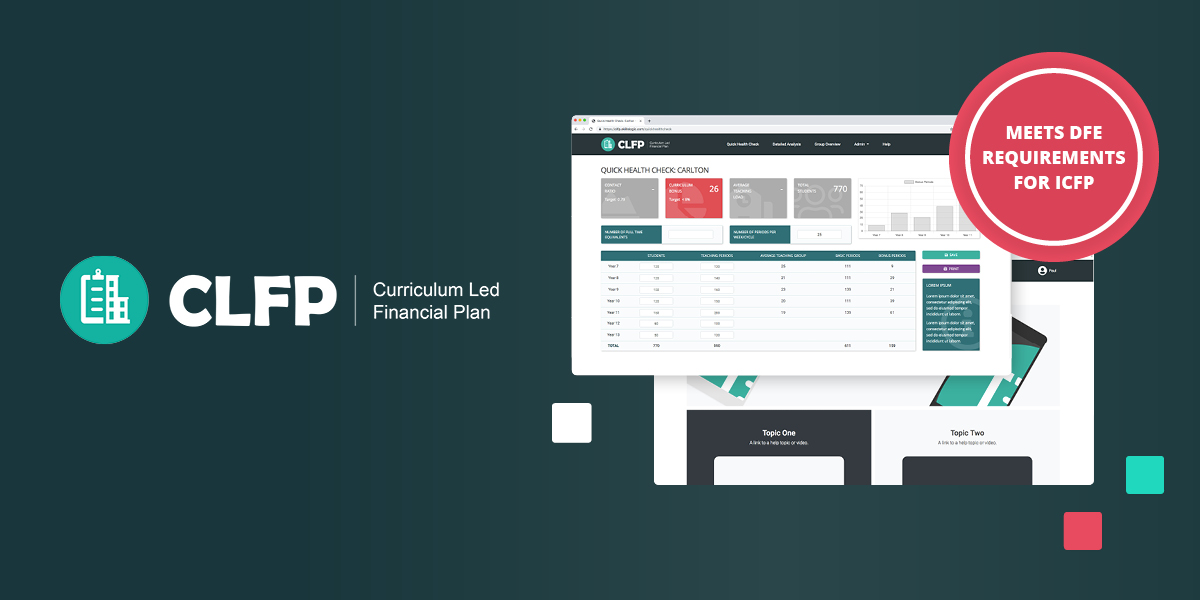 Introducing the new online Curriculum Led Financial Planning Tool (CLFP)