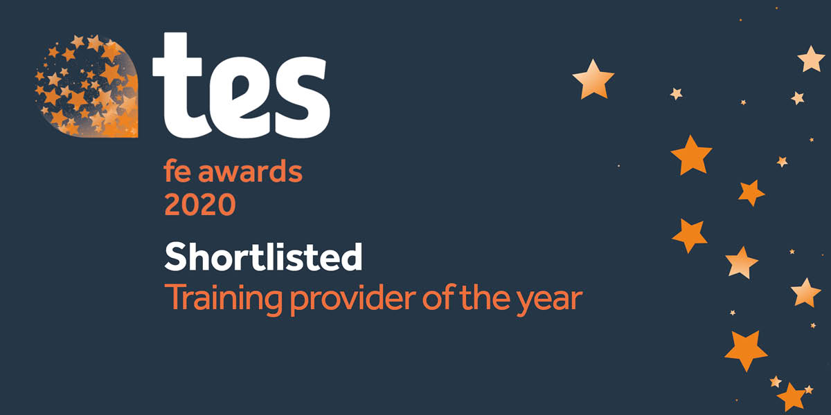 TSN Shortlisted for 'Training Provider of The Year' at the TES FE Awards 2020