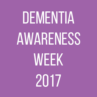 Let's unite against dementia! Dementia Awareness Week 2017