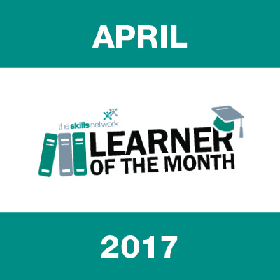 Learner of the Month - April 2017