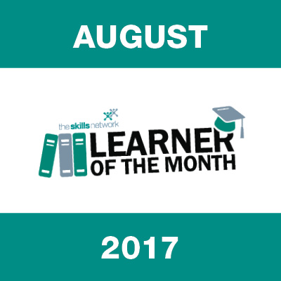 Learner of the Month - August 2017